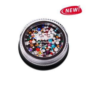 Стразы PNB разноцветные, микс размеров, стекло 200шт