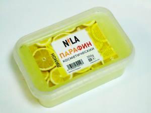 Парафин ароматизированный Nila лимон 350г