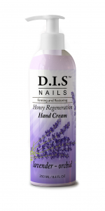 Увлажняющий крем для рук с ароматом лаванды и экстрактом орхидеи DIS nails 250мл