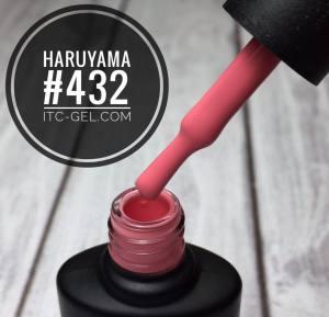 Гель-лак Haruyama Классика №432, янтарный персик, 8 мл