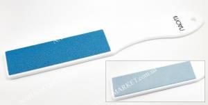 Пилка для ног бело-голубая Naomi 80/120