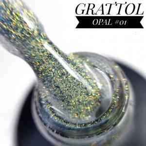 Гель-лак GRATTOL Opal 01, 9 мл