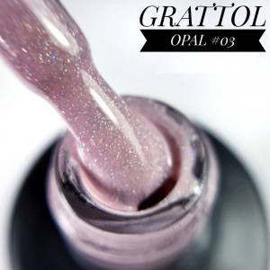 Гель-лак GRATTOL Opal 03, 9 мл