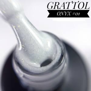 Гель-лак GRATTOL Onyx 01, 9 мл