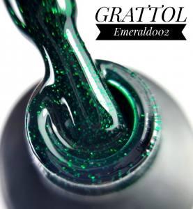 Гель-лак Grattol Emerald 002, 9 мл