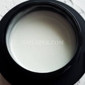 Молочная база с серебряным шиммером Nailapex Milk Base Shimmer 30мл