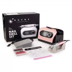 Фрезер для маникюра Bucos Nail Drill ZS-717 PRO Pink 65 Ватт, 35 000 об