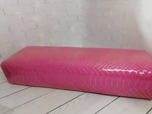Подлокотник для рук розовый сетка