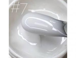 Гель для наращивания Saga veil №07 молочный