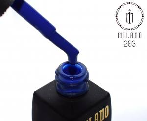 Гель лак MILANO 8мл 203 синий классика
