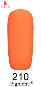 Гель-лак F.O.X. Pigment №210 персик 6мл