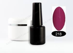 Гель-лак на розлив 5г №218 сиренево-фиолетовый
