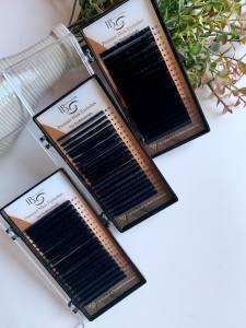 Ресницы I-Beauty CC-0.05 микс 10-12-14 мм