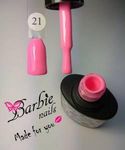 Гель-лак Barbie Nails №21 неоновый розовый