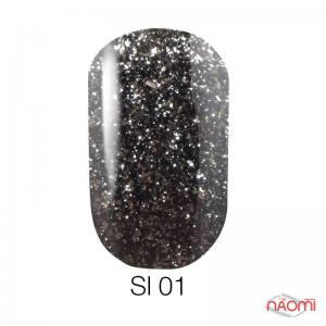 Гель-лак Naomi Self Illuminated SI 1, 6 мл