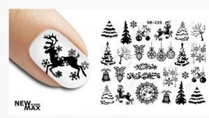 Слайдер-дизайн для ногтей New Max SB-225
