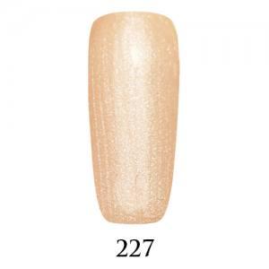 Гель-лак Adore Professional № 227  кремовый с блёстками 7,5 мл