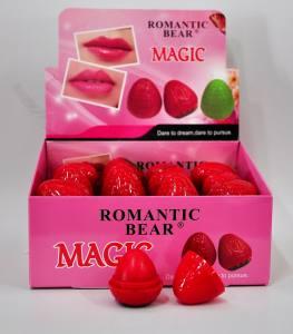 Бальзам для губ Romantic Bear magic  клубника