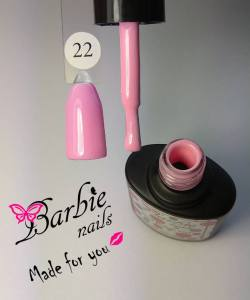 Гель-лак Barbie Nails №22 розово-сиреневый