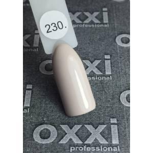 Гель-лак OXXI Professional №230 (бежево-нюдовый, эмаль), 8 мл