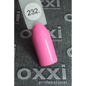 Гель-лак OXXI Professional №232 ( нежно-розовый, эмаль), 8 мл