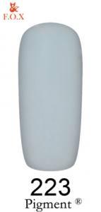 Гель-лак F.O.X. Pigment 6мл №223 серый эмаль