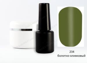 Гель-лак на розлив 5г №234 болотно-оливковый