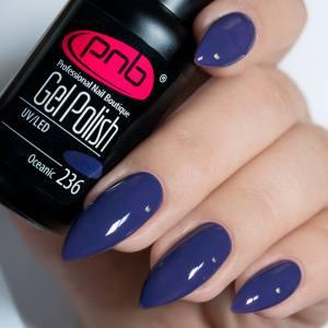 Гель-лак PNB Oceanic 236 синий