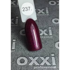 Гель-лак OXXI Professional №237 (гнилая вишня микроблеск), 8 мл