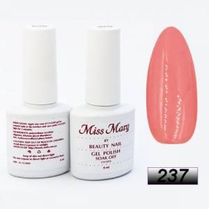 Гель-лак Miss Mary 8ml № 237 ( коралловая пудра )