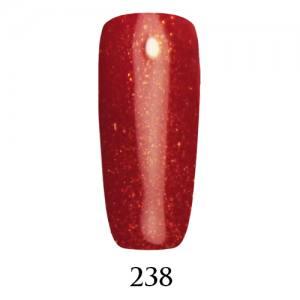 Гель-лак ADORE Professional №238 (малиновый, микроблеск), 7,5 мл