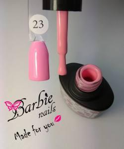 Гель-лак Barbie Nails №23 бледный розовый