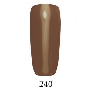 Гель-лак ADORE Professional №240 (серо-фиолетовый, эмаль), 7,5 мл