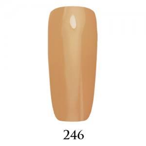 Гель-лак Adore Professional 7,5 мл №246 нейтральный бежевый френч