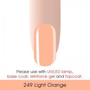 Гель-лак Canni 7мл  №249 телесно-оранжевый