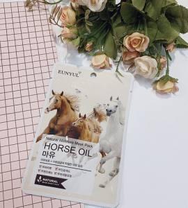 Увлажняющая тканевая маска с лошадиным жиром EUNYUL Natural Moisture Mask Pack-Horse Oil  25 мл