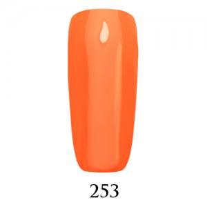 Гель-лак Adore Professional 7,5 мл №253 пастельный насыщенный оранжевый