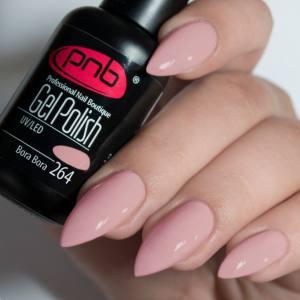Гель-лак PNB Bora Bora 264 8мл розовый