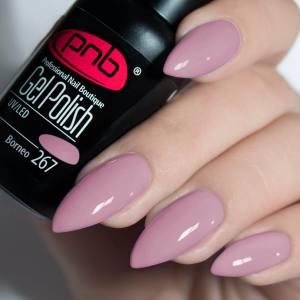 Гель-лак PNB Borneo 267 8мл розово-сиреневый