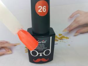 Гель-лак Tertio Baffo 10мл №26 яркий оранжевый