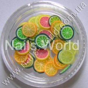 Фимо фрукты MIX баночка  50 шт.