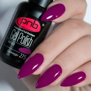 Гель-лак PNB Caravaggio 275 8мл яркий фиолетовый