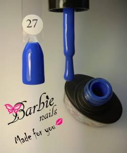 Гель-лак Barbie Nails №27 синий