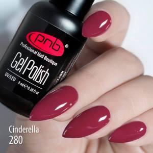 Гель-лак PNB Cinderella 280 8мл лесная ягода