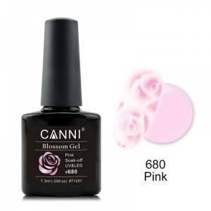 Акварельный гель-лак розовый CANNI №680