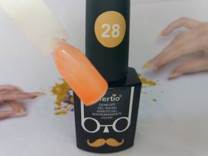 Гель-лак Tertio Baffo 10мл №28 витражный оранжевый