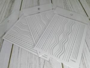 3D гибкая лента для дизайна ногтей 2976