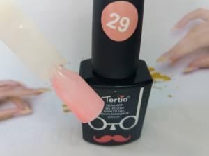 Гель-лак Tertio Baffo 10мл №29 витражный розовый