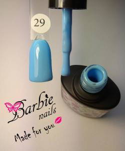 Гель-лак Barbie Nails №29 голубой