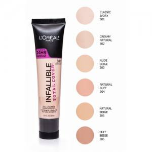 Тональный крем для лица L'Oreal Infallible Total Cover 24HR Foundation 30 ml